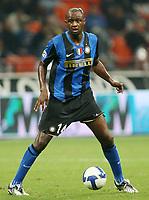 Fotball<br /> Italia<br /> Foto: Inside/Digitalsport<br /> NORWAY ONLY<br /> <br /> Patrick Vieira (Inter)<br /> <br /> 24.09.2008<br /> Serie A<br /> Inter v Lecce (1-0)