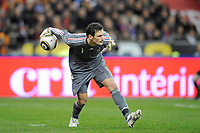 FOOTBALL - FRIENDLY GAME 2010 - FRANCE v SPAIN - 03/03/2010 - PHOTO JEAN MARIE HERVIO / DPPI - FHUGO LLORIS (FRA)