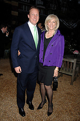 COUNT & COUNTESS FILIPPO GUERRINI-MARALDI at the annual Cartier Chelsea Flower Show dinner held at the Chelsea Physic Garden, London on 21st May 2007.<br /><br />NON EXCLUSIVE - WORLD RIGHTS