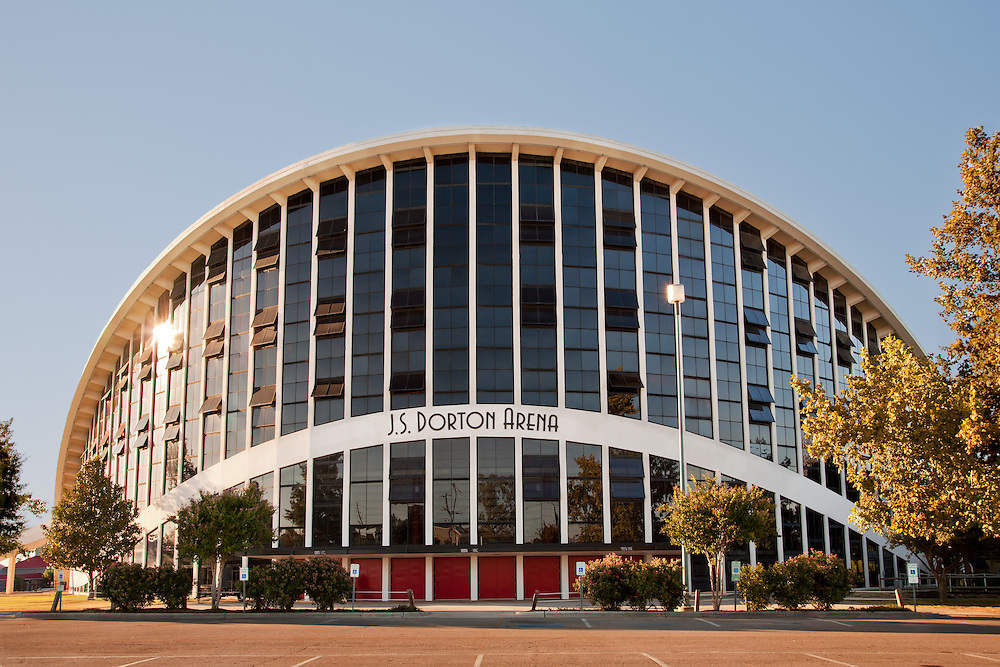 The J.S. Dorton Arena is located in Raleigh, North Carolina, on the grounds of the North Carolina State Fair. It was opened in 1952.