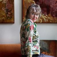 Nederland, Amsterdam , 13 september 2012..Hedwig (Hedy) d'Ancona (Den Haag, 1 oktober 1937) is een Nederlandse sociologe, sociaal geografe, politica en feministe..Foto:Jean-Pierre Jans