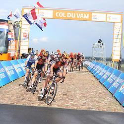 22-08-2020: Wielrennen: NK vrouwen: Drijber<br /> Chantal van den Broek - Blaak (Netherlands / Boels - Dolmans Cycling Team), Jip van den Bos (Netherlands / Boels - Dolmans Cycling Team)