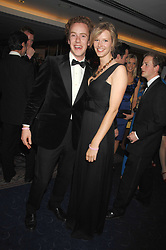 OLIVIA HUNT and TOM INSKIP at the 2008 Boodles Boxing Ball in aid of the charity Starlight held at the Royal Lancaster Hotel, London on 7th June 2008.<br /> <br /> NON EXCLUSIVE - WORLD RIGHTS