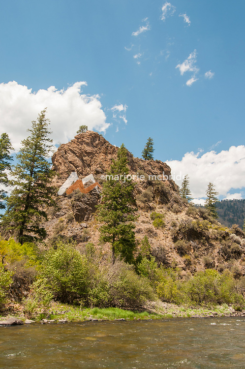 Scenic Middle Fork of the Salmon River, Idaho.