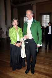 COUNT & COUNTESS NIKOLAI TOLSTOY-MILOSLAVSKY at the 13th annual Russian Summer Ball held at the Banqueting House, Whitehall, London on 14th June 2008.<br /><br />NON EXCLUSIVE - WORLD RIGHTS