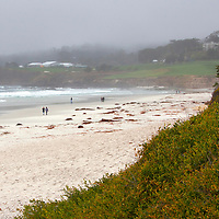 USA, California, Carmel by the Sea. Carmel Beach, Carmel by the Sea, California.