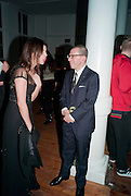 JULIA RESTOIN-ROITFELD; JONATHAN NEWHOUSE, 30 Years Of i-D - book launch. Q Book 5-8 Lower John Street, London . 4 November 2010. -DO NOT ARCHIVE-© Copyright Photograph by Dafydd Jones. 248 Clapham Rd. London SW9 0PZ. Tel 0207 820 0771. www.dafjones.com.