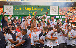 Currie Cup Champions 2016, Free State Cheetahs during the Currie Cup Final between the The Free State Cheetahs and Blue Bulls held at Toyota Stadium (Free State Stadium), Bloemfontein, South Africa on the 22nd October 2016<br /> <br /> Photo by:   Frikkie Kapp / Real Time Images
