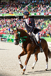 William Fox Pitt, (GBR), Chilli Morning won bronze in the indvidual Eventing - Alltech FEI World Equestrian Games™ 2014 - Normandy, France.<br /> © Hippo Foto Team - Leanjo De Koster<br /> 31-08-14