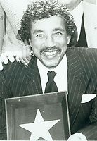 1987 Smokey Robinson's Walk of Fame ceremony