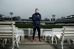 Middlesex's Dawid Malan poses for a photograph following the media day at Lord's Cricket Ground, London.