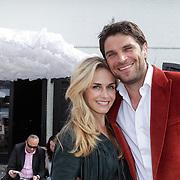 NLD/Amsterdam/20120601 - Uitreiking Talkies Terras Awards 2012, Xander de Buisonje en partner Sophie Steger