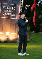Carl Donnelly picnic at the castle,Warwick Castle photo by Brian Jordan