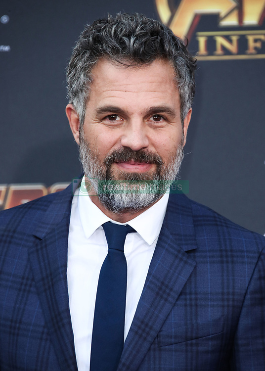 HOLLYWOOD, LOS ANGELES, CA, USA - APRIL 23: World Premiere Of Disney And Marvel's 'Avengers: Infinity War' held at the El Capitan Theatre, Dolby Theatre and TCL Chinese Theatre IMAX on April 23, 2018 in Hollywood, Los Angeles, California, United States. 23 Apr 2018 Pictured: Mark Ruffalo. Photo credit: Xavier Collin/Image Press Agency / MEGA TheMegaAgency.com +1 888 505 6342