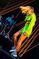Astrid S under Jugendfest 2018 på Color Line Stadion i Ålesund.