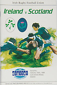 Rugby 1988-16/01 Five Nations Ireland vs Scotland