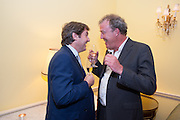 CHARLIE BROOKS; JEREMY CLARKSON; , Tatler magazine Jubilee party with Thomas Pink. The Ritz, Piccadilly. London. 2 May 2012