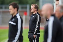 NEWPORT, WALES - Thursday, August 4, 2016: Regional Development Boys coach during the Welsh Football Trust Cymru Cup 2016 at Newport Stadium. (Pic by Paul Greenwood/Propaganda)