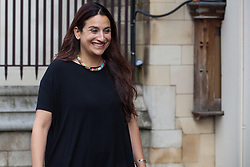 "London, UK. 25 September, 2019. Luciana Berger, Liberal Democrat MP for Liverpool Wavertree, returns to Parliament on the day after the Supreme Court ruled that the Prime Minister's decision to suspend parliament was ""unlawful, void and of no effect"". Credit: Mark Kerrison/Alamy Live News"
