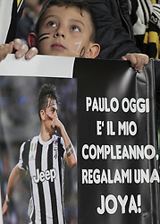 September 20, 2017 - Turin, Italy - The public during Serie A match between Juventus v Fiorentina, in Turin, on September 20, 2017  (Credit Image: © Loris Roselli/NurPhoto via ZUMA Press)