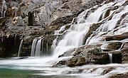 Falls on McDonald Creek, Glacier National Park.