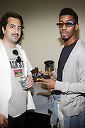 Ice and Deriick Walcott aka Fonworth Bentley at The Black Star Concert presented by BlackSmith and Live N Direct held at The Nokia Theater in New York City on May 30, 2009