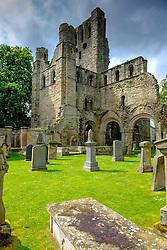 Kelso Abbey and graveyard, Scottish Borders<br /> <br /> (c) Andrew Wilson   Edinburgh Elite media