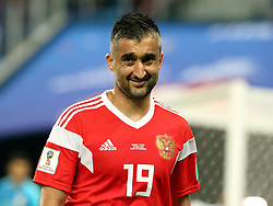 June 19, 2018 - St. Petersburg, Russia - 19 June 2018, Russia, St. Petersburg, FIFA World Cup 2018, First Round, Group A, First Matchday, Russia v Egypt. Player of the national team Alexander Samedov  (Credit Image: © Russian Look via ZUMA Wire)