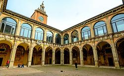 Biblioteca comunale dell'Archiginnasio, Bologna, Italy<br /> <br /> (c) Andrew Wilson | Edinburgh Elite media