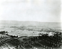 1895 Panorama looking south from Laurel Canyon