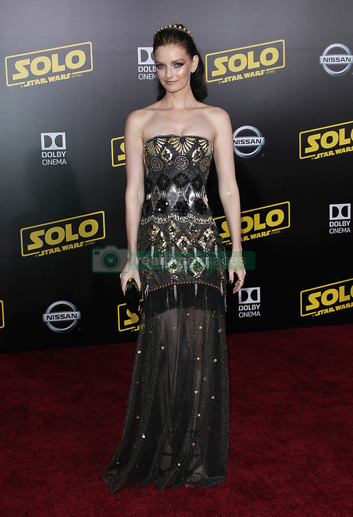 Solo: A Star Wars Story Premiere - Los Angeles. 10 May 2018 Pictured: Lydia Hearst. Photo credit: Jaxon / MEGA TheMegaAgency.com +1 888 505 6342