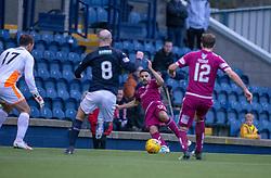 Arbroath's Omar Kader. Raith Rovers 0 v 1 Arbroath. Scottish Football League Division One game played 16/2/2109 at Stark's Park.