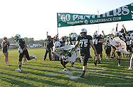 Huron High School at Elyria Catholic High School varsity football on August 30, 2013. Images © David Richard and may not be copied, posted, published or printed without permission.
