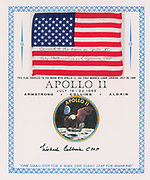 Space Exploration Auction featuring Apollo 11th 50th Anniversary Artifacts <br /> <br /> Boston-based RR Auction will honor the Apollo 11 astronauts, their predecessors and those who made the historic mission possible, and their enduring legacy in manned spaceflight during its June 13-June 20 sale. <br /> <br /> With over 500 lots highlighted by autographs, hardware, and flown artifacts, this auction brings to life the history of the space program. <br /> <br /> Fifty years ago, on July 20, 1969, the Apollo 11 Lunar Module 'Eagle' touched down on the surface of the moon.  Astronaut Neil Armstrong descended the spacecraft's ladder and spoke his immortal words: 'That's one small step for a man, one giant leap for mankind.' Buzz Aldrin soon followed behind him, and the two became the first earthly beings to set foot upon another celestial body. <br /> <br /> Included in the sale is an extremely rare 70-mm positive film roll from Magazine S of the Apollo 11 Hasselblad camera, containing 126 of the most iconic images from the first lunar-landing mission.<br /> <br /> Wound on a yellow Kodak holder and measuring 3.5″ in diameter. The roll features photographs taken by Commander Neil Armstrong and Lunar Module Pilot Buzz Aldrin during their historic two-and-a-half-hour lunar extravehicular activity at Tranquility Base with color images including: moments from inside the Lunar Module Eagle immediately prior to Armstrong leaving the spacecraft; Armstrong's first photograph after taking his historic first steps; Aldrin descending the ladder; Aldrin standing next to the American flag; the famous 'Moon Man' image of Aldrin in a full-length pose, his visor showing a reflection of Armstrong; and various bootprint images, shots of the Lunar Module, the lunar plaque, and panoramas of the desolate lunar surface.<br /> <br /> The film roll was acquired from Terry Slezak, a member of the decontamination team at the Manned Space Center's lunar receiving lab, who was in charge of processing the film brought back from the Apollo moon landings.<br /> <br /> <br /> Additional