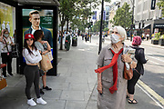 As the national coronavirus lockdown three eases towards the planned Freedom Day in just over two weeks, people, many of whom are still wearing face masks while out on the street, come to Oxford Street shopping district on 22nd July 2021 in London, United Kingdom. Now that the roadmap for coming out of the national lockdown and easing of restrictions is set, dome medical professionals are suggesting thatsome safety measures are kept in place because of the increase in the Delta variant.