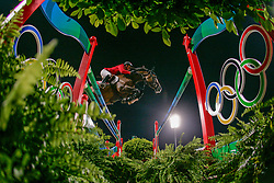 Guerdat Steve - Jalisca Solier<br /> Olympic Games Hong Kong 2008<br /> Photo © Dirk Caremans - Hippo Foto