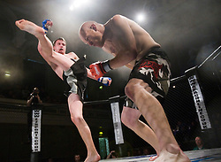 SFC 3: Showdown. Bouts from the mixed martial arts fights at the Albert Halls Stirling..Pic ©2010 Michael Schofield. All Rights Reserved.