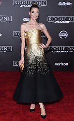 Celebrities walk the red carpet at the World premiere of 'Rogue One: A Star Wars Story' in Hollywood. 10 Dec 2016 Pictured: Jaime King. Photo credit: American Foto Features / MEGA TheMegaAgency.com +1 888 505 6342