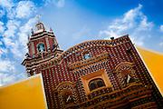 Santa María Tonantzintla Church in San Andrés Cholula