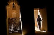 Inside Jabrin Fort Oman
