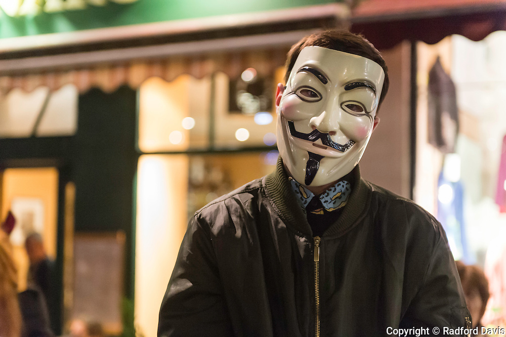 Guy Fawkes in Edinburgh, Scotland
