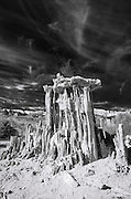 Sand tufa formations on the south shore of Mono Lake, Mono Basin National Scenic Area, California USA