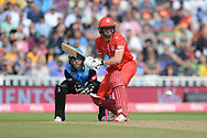 Dane Villas of Lancashire Lightning batting during the Vitality T20 Finals Day Semi Final 2018 match between Worcestershire Rapids and Lancashire Lightning at Edgbaston, Birmingham, United Kingdom on 15 September 2018.
