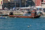A boat on the Douro River, Porto, Portugal
