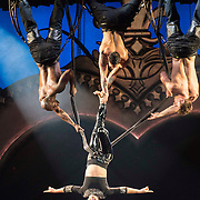 Pink performs at Staples Center on October 13, 2013 in Los Angeles, California.