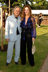 Artist ANISH KAPOOR and his wife SUSANNAH at the annual Serpentine Gallery Summer Party in association with Swarovski held at the gallery, Kensington Gardens, London on 11th July 2007.<br /><br />NON EXCLUSIVE - WORLD RIGHTS
