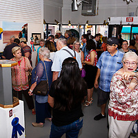 ART123 Gallery was packed Tuesday night for the Best in Show Night of the 98th Gallup Inter-Tribal Indian Ceremonial art winners.