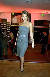 Singer RACHEL STEVENS at the 6th annual Lancome Colour Design Awards in association with CLIC Sargent Cancer Care held at Lindley Hall, Victoria, London on 28th November 2006.<br />