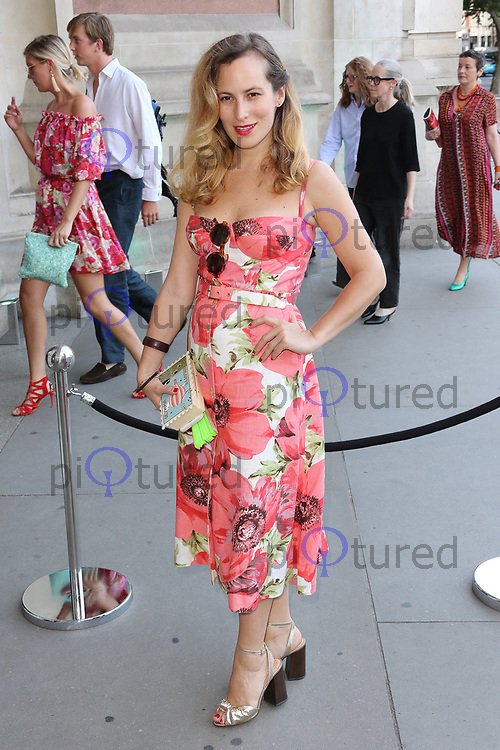 Charlotte Olympia Dellal, V&A Summer Party, Victoria & Albert Museum, London UK, 21 June 2017, Photo by Richard Goldschmidt
