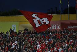 April 21, 2018 - Estoril, Estoril, Portugal - Benfica supporters during the Premier League 2017/18 match between Estoril Praia v SL Benfica, at Estadio Antonio Coimbra da Mota in Estoril on April 21, 2018. (Credit Image: © Dpi/NurPhoto via ZUMA Press)